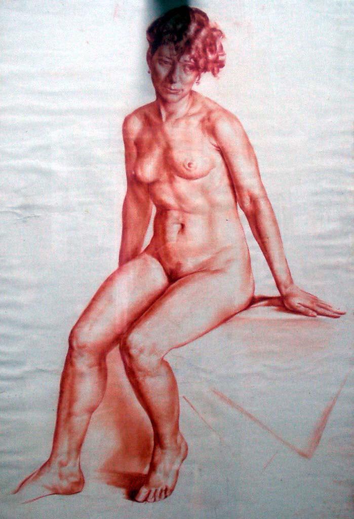 "Вадим Кучер-Куцан (Vadim Kucher-Kutsan) ""Обнаженная   The naked"""