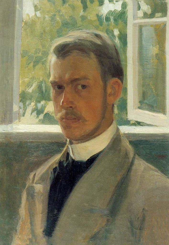 Борис Кустодиев (Boris Kustodiev), Автопортрет