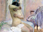 "Анри Лебаск (Henri Lebasque) ""Nude"""