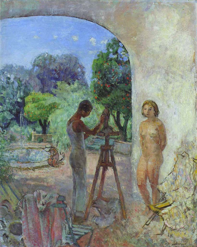 "Анри Лебаск (Henri Lebasque) ""My Son"""