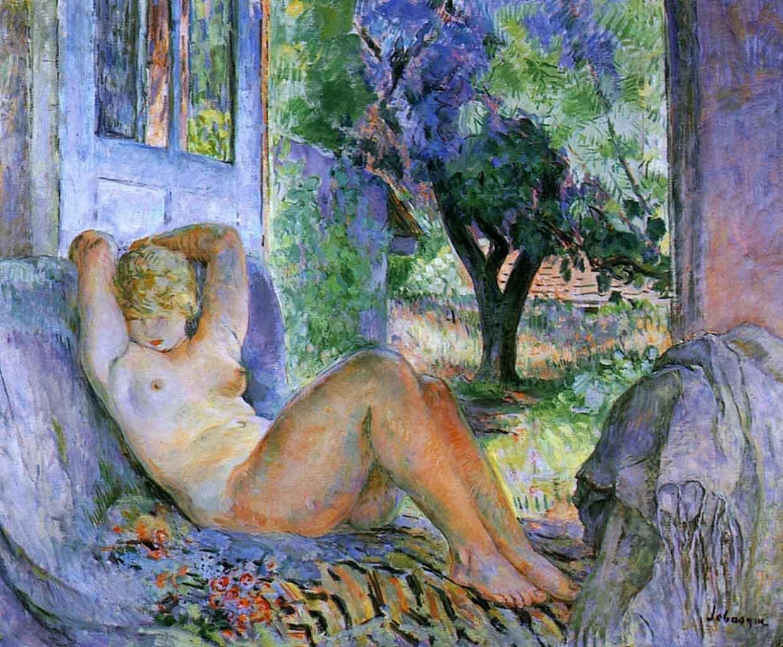 "Анри Лебаск (Henri Lebasque) ""Grande nude"""