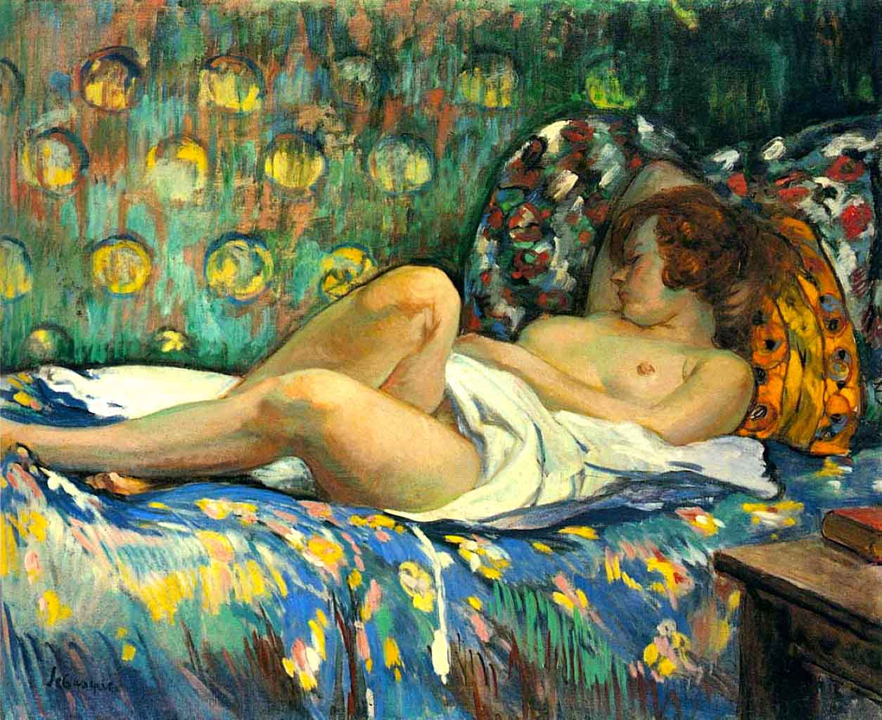Painting of a naked woman monet, hire a girl in bandung for sex