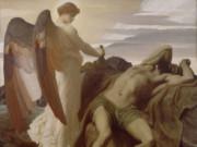 "Фредерик Лейтон (Frederick Leighton), ""Илия в пустыне"""