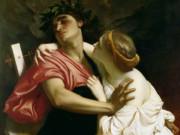 "Фредерик Лейтон (Frederick Leighton), ""Орфей и Эвридика"""