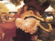 "Фредерик Лейтон (Frederick Leighton), ""В саду Гесперид"""