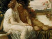 """Фредерик Лейтон (Frederick Leighton), """"Акма и Септимий"""""""