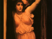 "Фредерик Лейтон (Frederick Leighton), ""Last Watch of Hero"""