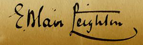 "Фредерик Лейтон (Frederick Leighton), ""Autograph"""