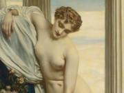"""Фредерик Лейтон (Frederick Leighton), """"Венера, раздевающаяся перед купанием"""""""