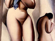 "Тамара Лемпицка (Tamara Lempicka) ""Two Nudes in Perspective"""