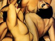 "Тамара Лемпицка (Tamara Lempicka) ""Group of Four Nudes"""
