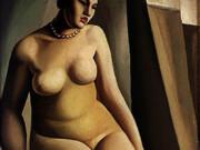 """Тамара Лемпицка (Tamara Lempicka) """"Seated Nude - 4"""""""