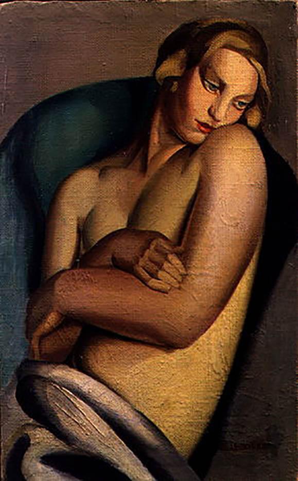 "Тамара Лемпицка (Tamara Lempicka) ""Leaning Nude II"""