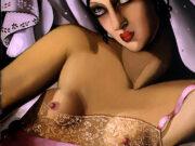 "Тамара Лемпицка (Tamara Lempicka) ""The Pink Shirt I"""