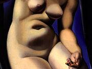 "Тамара Лемпицка (Tamara Lempicka) ""Nude with Dove"""
