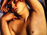 """Тамара Лемпицка (Tamara Lempicka) """"Sleeping Girl"""""""