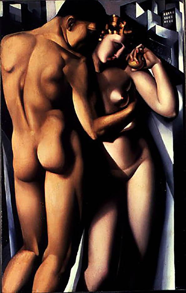 """Тамара Лемпицка (Tamara Lempicka) """"Adam and Eve"""""""