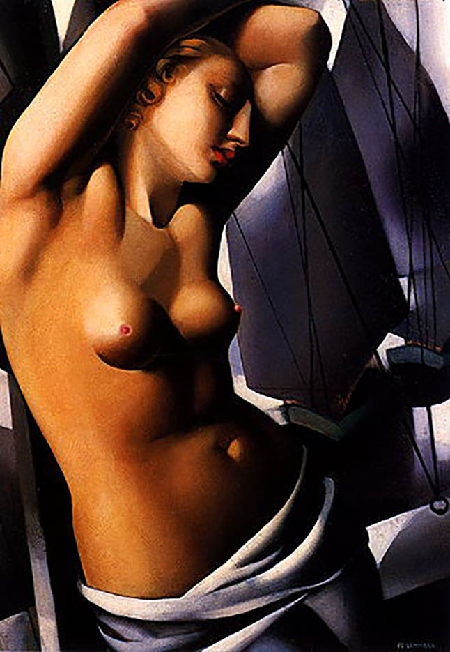 "Тамара Лемпицка (Tamara Lempicka) ""The Blue Hour"""