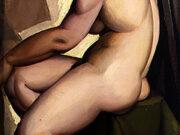 "Тамара Лемпицка (Tamara Lempicka) ""Seated Nude in Profile"""