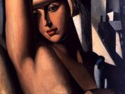 "Тамара Лемпицка (Tamara Lempicka) ""Portrait of Suzy Solidor"""