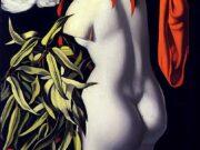 """Тамара Лемпицка (Tamara Lempicka) """"Antique Cast with Dove"""""""