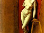 "Тамара Лемпицка (Tamara Lempicka) ""Nude with Cut Arm"""