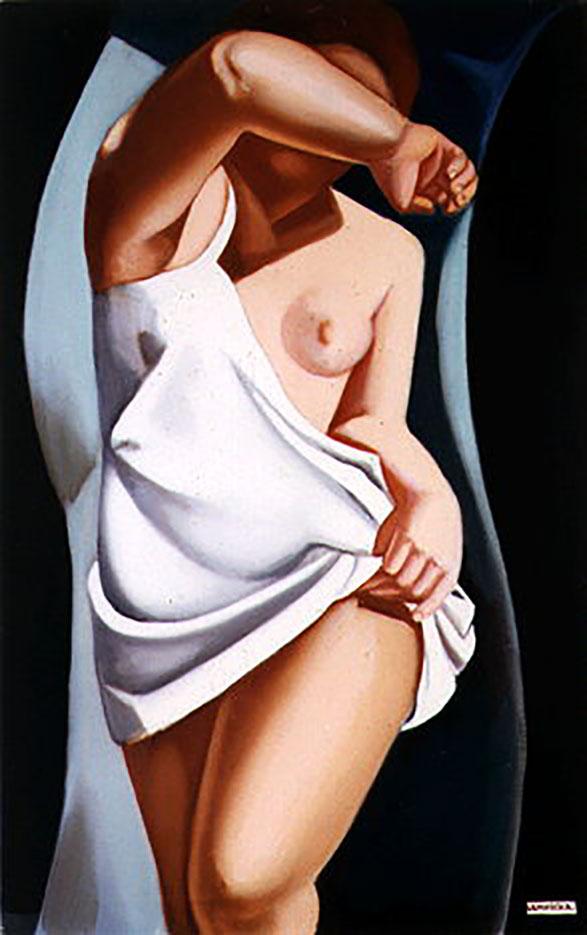 """Тамара Лемпицка (Tamara Lempicka) """"The Model II"""""""