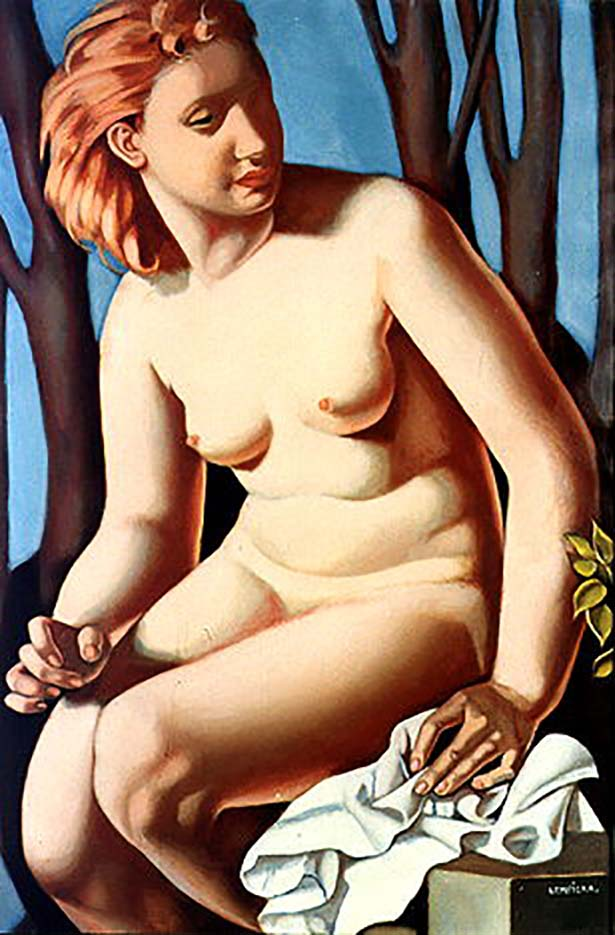 "Тамара Лемпицка (Tamara Lempicka) ""Suzanne Bathing II"""