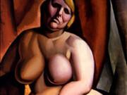 """Тамара Лемпицка (Tamara Lempicka) """"Seated Nude"""""""