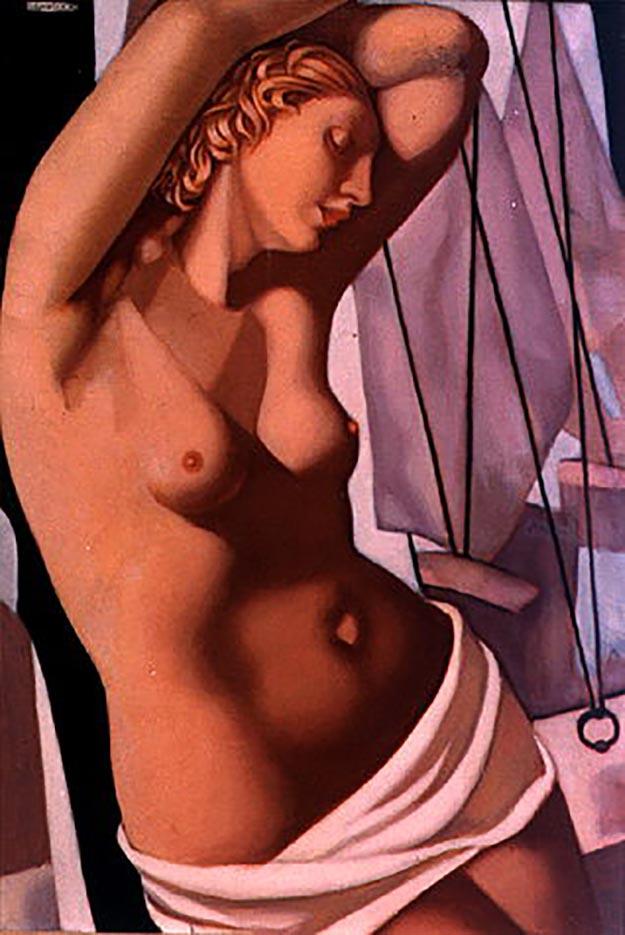 "Тамара Лемпицка (Tamara Lempicka) ""The Blue Hour II"""