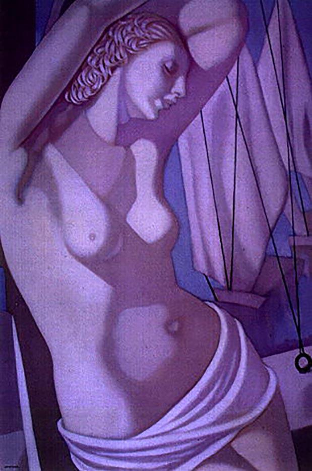 "Тамара Лемпицка (Tamara Lempicka) ""The Blue Hour III"""