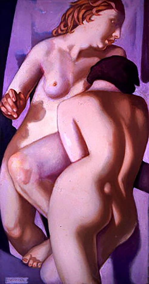 "Тамара Лемпицка (Tamara Lempicka) ""The Two Girlfriends V"""