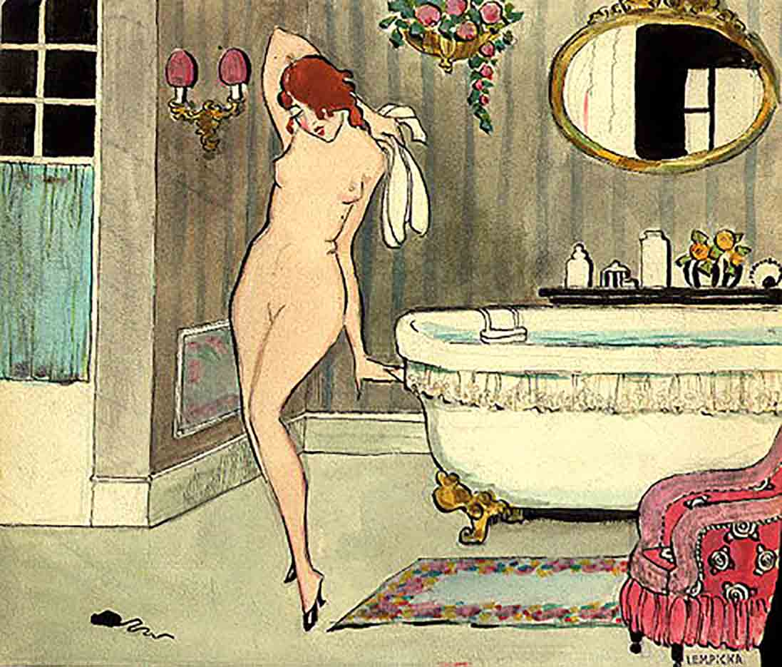 """Тамара Лемпицка (Tamara Lempicka) """"Unidentified Work"""""""