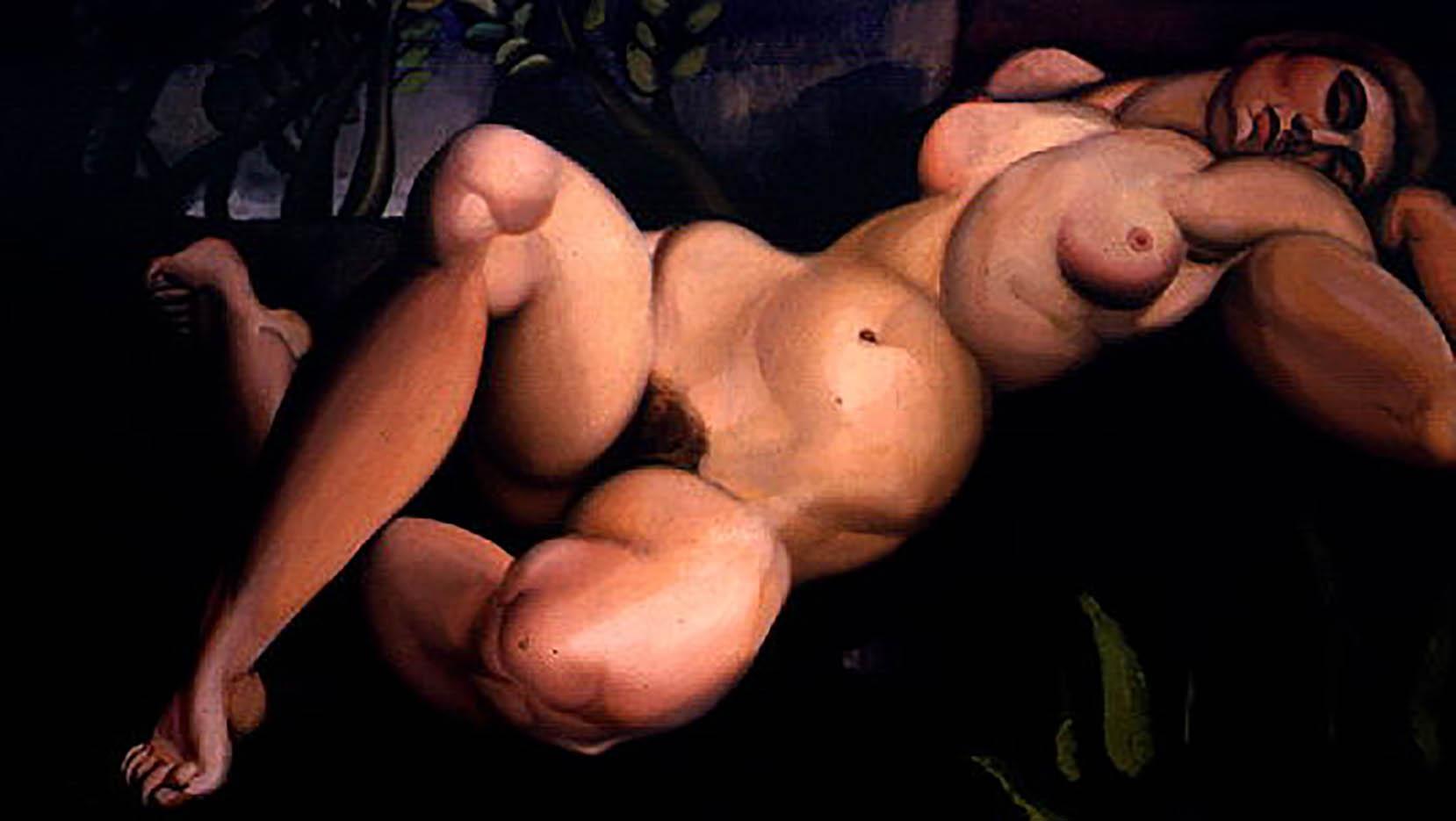 "Тамара Лемпицка (Tamara Lempicka) ""The Sleeping Girl"""