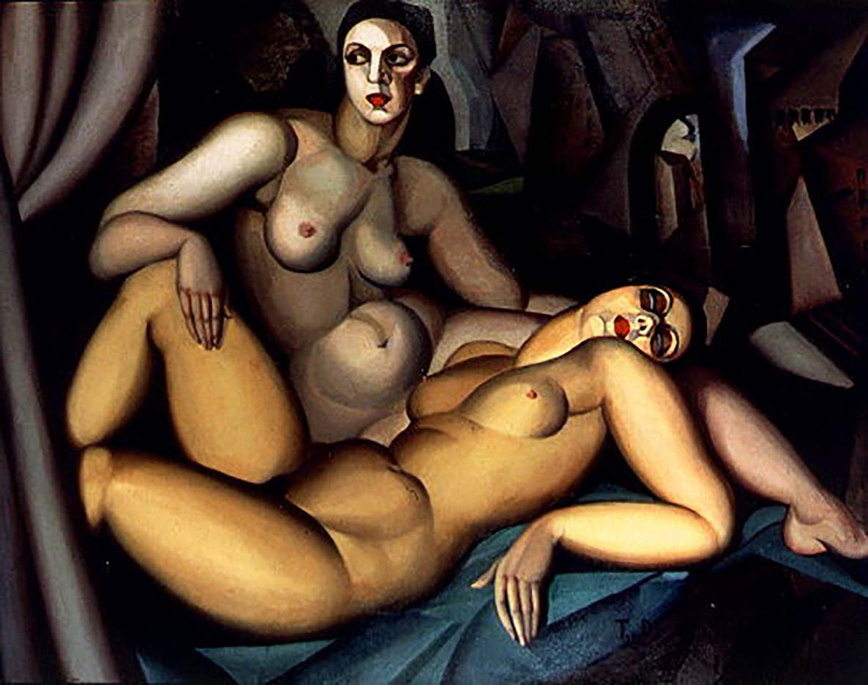 "Тамара Лемпицка (Tamara Lempicka) ""Perspective"""