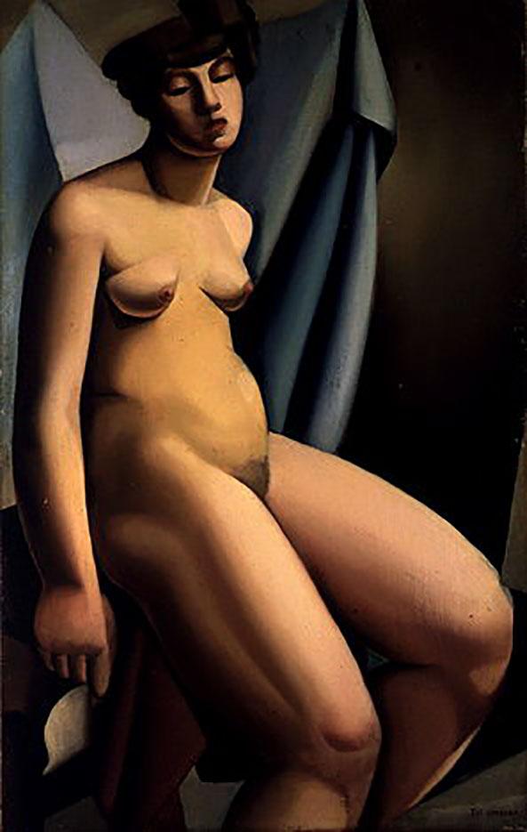 """Тамара Лемпицка (Tamara Lempicka) """"Seated Nude - 3"""""""