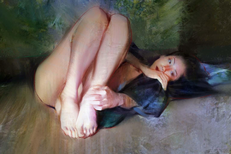 "Ванцзе Ли (Wangjie Li) ""Artwork - 15"""
