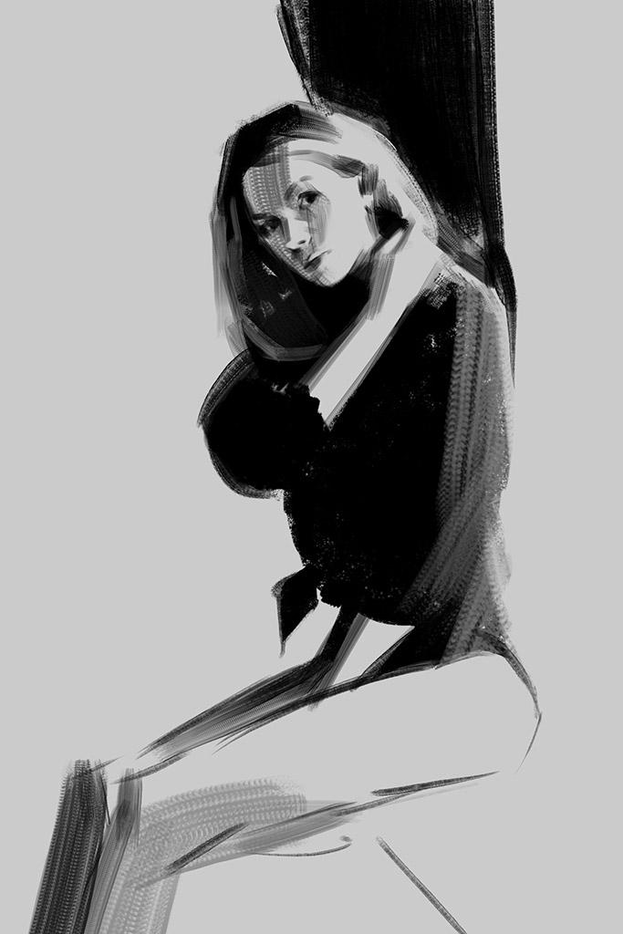 "Ванцзе Ли (Wangjie Li) ""Artwork - 35"""