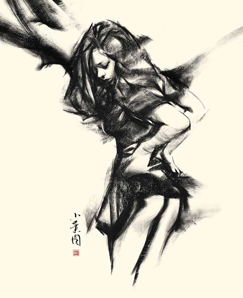 "Ванцзе Ли (Wangjie Li) ""Artwork - 45"""