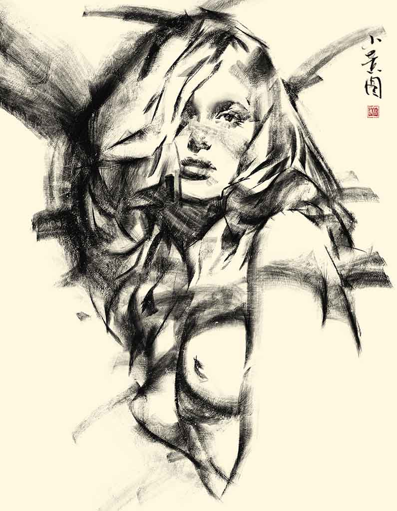 "Ванцзе Ли (Wangjie Li) ""Artwork - 46"""