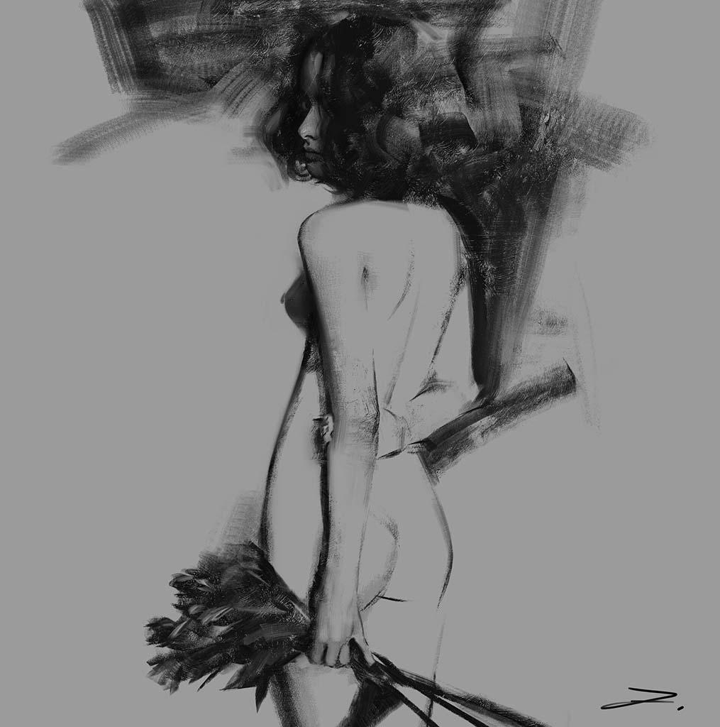 "Ванцзе Ли (Wangjie Li) ""Artwork - 57"""