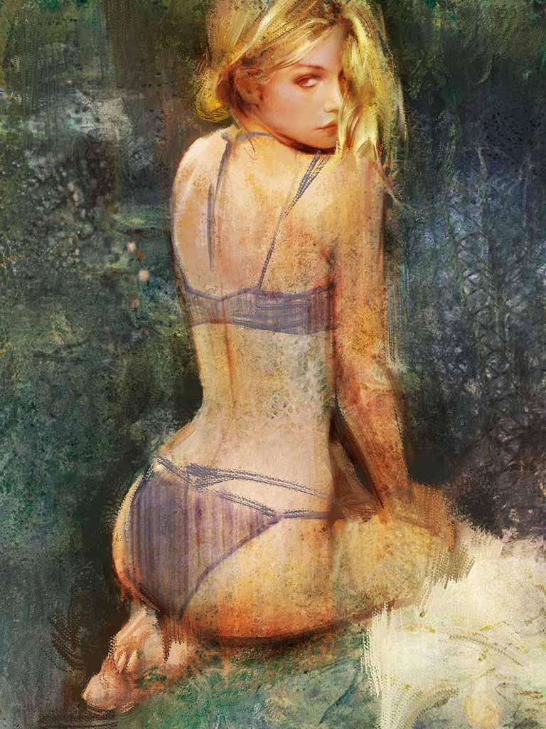 "Ванцзе Ли (Wangjie Li) ""Artwork - 6"""