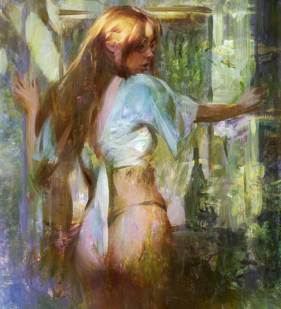 "Ванцзе Ли (Wangjie Li) ""Artwork - 7"""