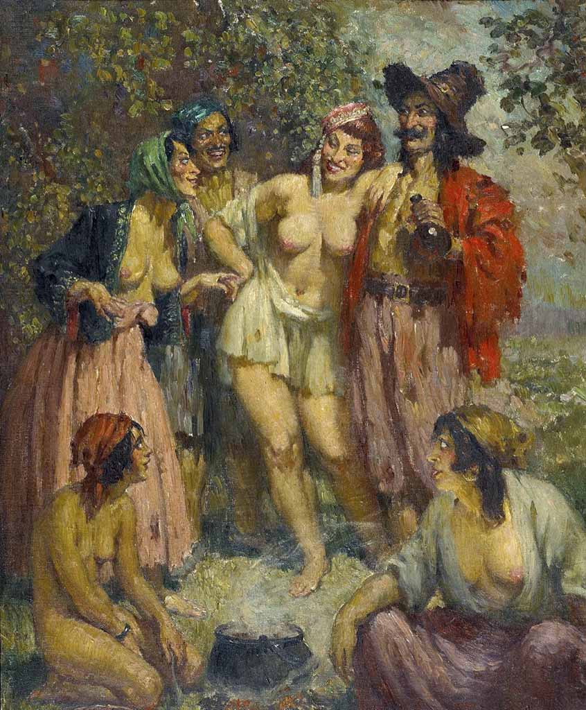 "Норман Линдсей (Norman Lindsay) ""Награда пиратов 