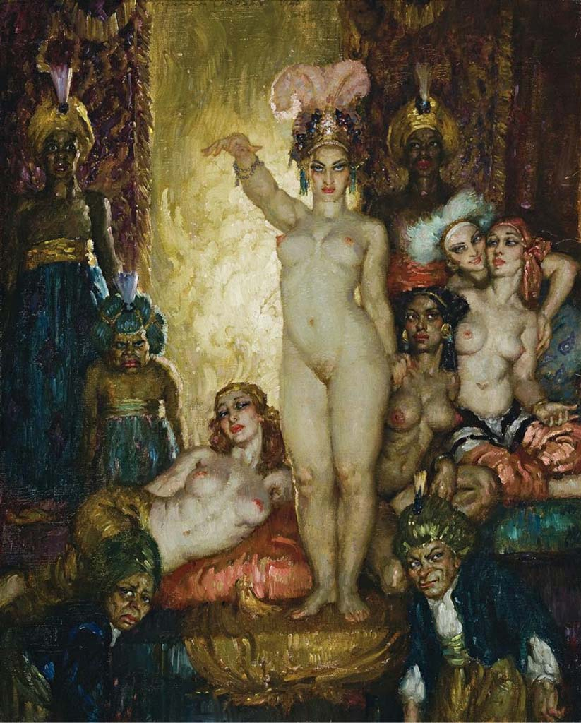 "Норман Линдсей (Norman Lindsay) ""Incantation"""