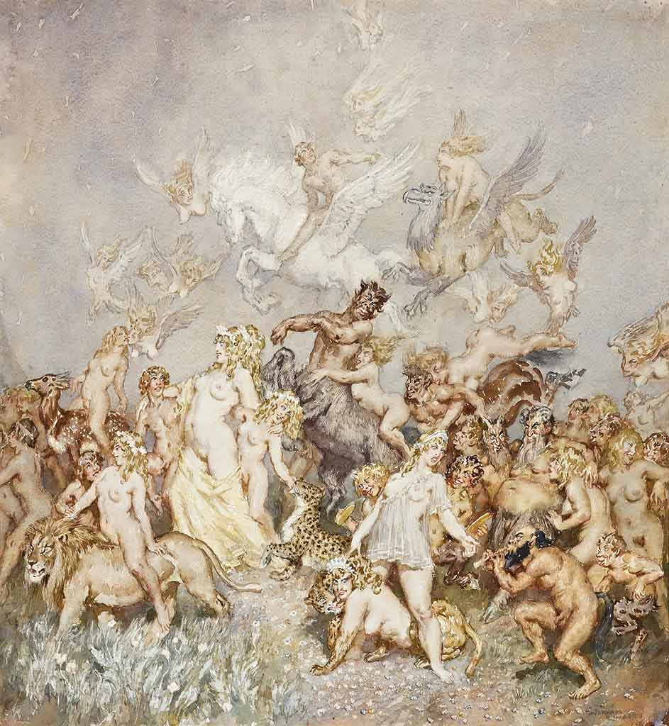 "Норман Линдсей (Norman Lindsay) ""Свита 