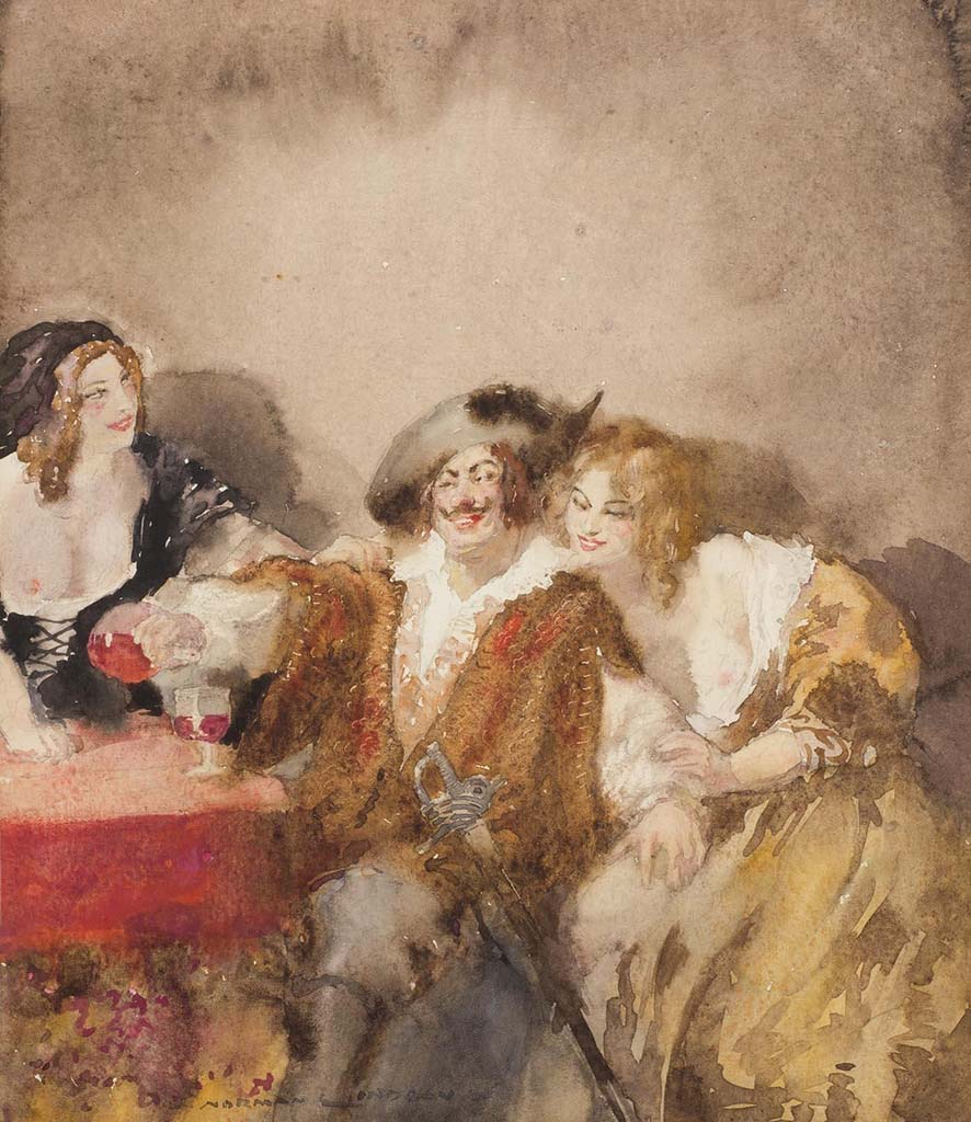 "Норман Линдсей (Norman Lindsay) ""Пираты 