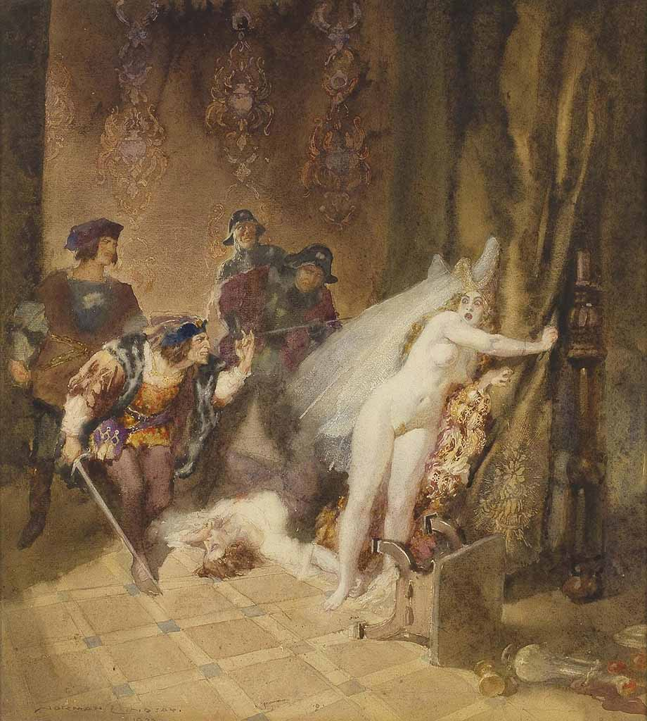 "Норман Линдсей (Norman Lindsay) ""Интерлюдия 