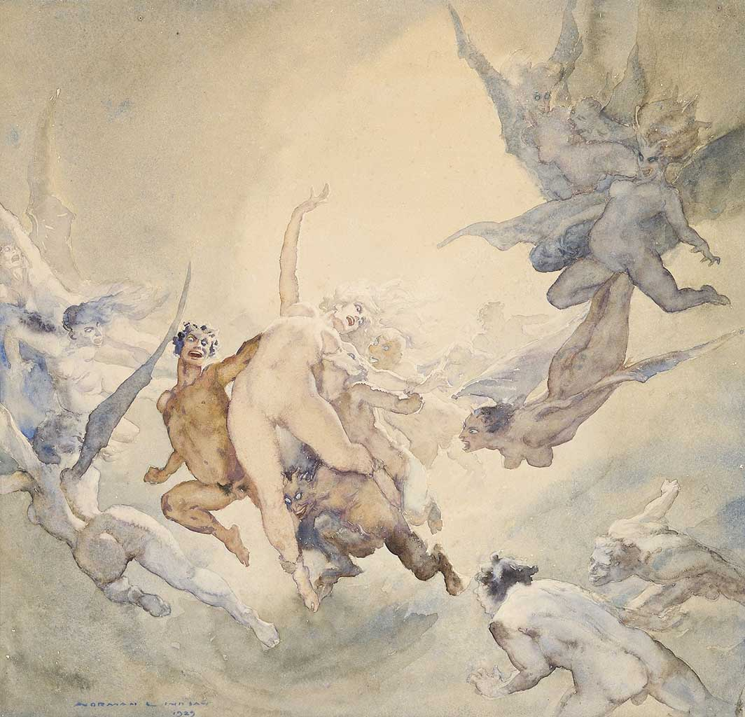 "Норман Линдсей (Norman Lindsay) ""Сон 