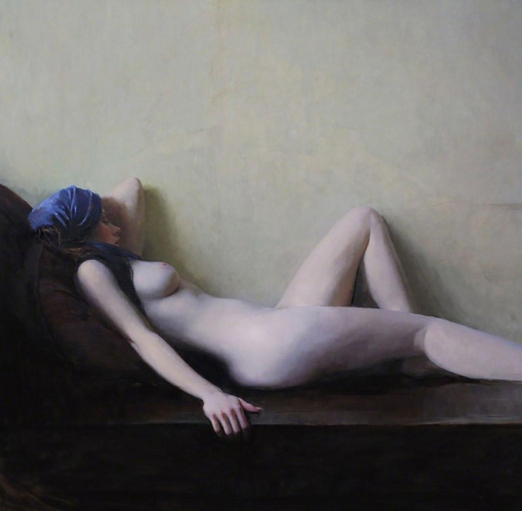 "Джереми Липкинг (Jeremy Lipking) ""Reclining Nude"""